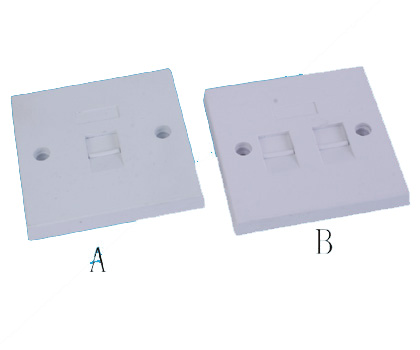 111306. Wall Plate 1 port / 2 port