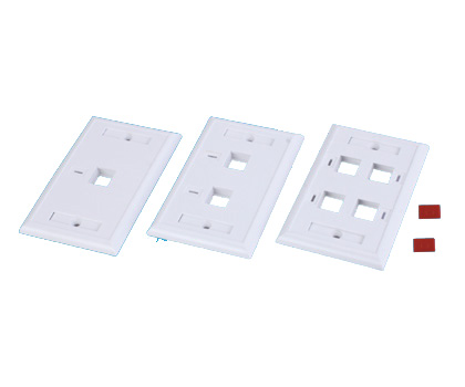 111322. 120Type Wall Plate 1-6 port