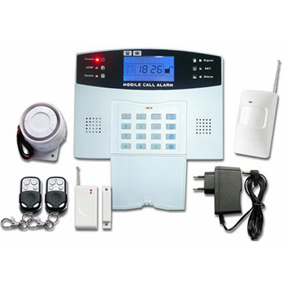 131202. GSM LCD alarm system with voice indication