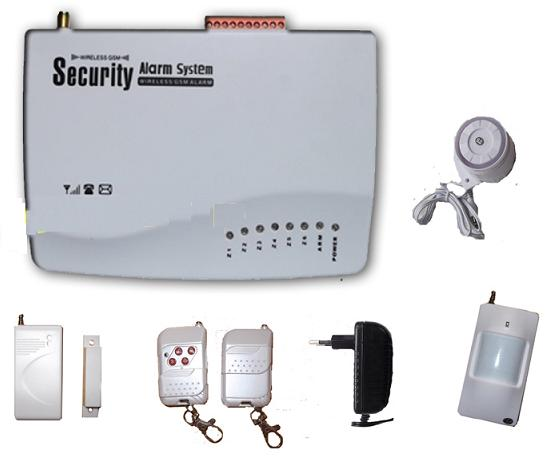 131203. house GSM alarm system with voice indication and dual talk