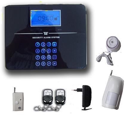 131205. Touch screen LCD GSM alarm system with voice prompt