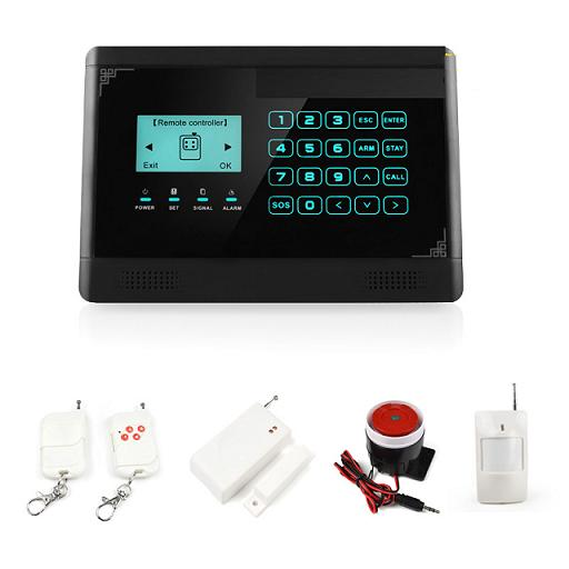 131210. GSM home alarm system with touch LCD screen VIP-601A
