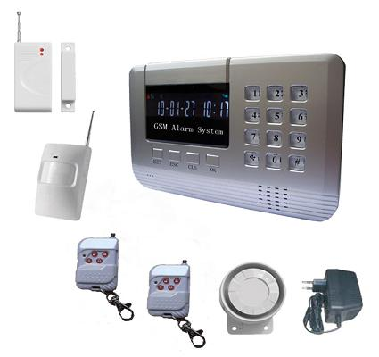 131211. Economical gsm alarm system with voice prompt VIP-601B