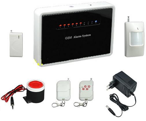 131215. Wireless/wired GSM alarm system with voice prompt