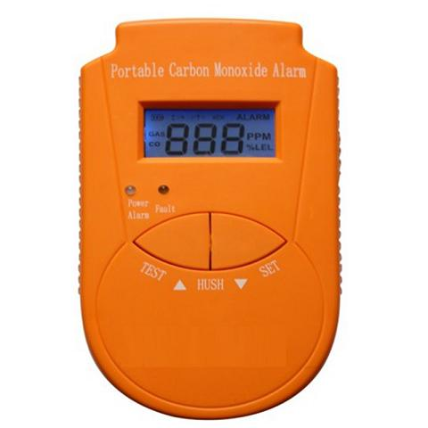 131705. portable CO detector with LCD display