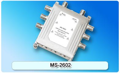 150607. MS-2602 2 in 6 Multiswitch, 2 In Series