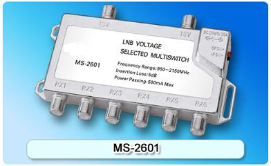 150608. MS-2601 2 in 6 Multiswitch, 2 In Series