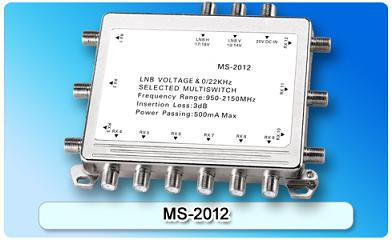 150610. MS-2012 2 in 12 Multiswitch, 2 In Series
