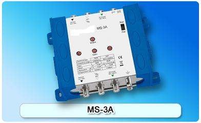 150613. MS-3A Multiswitch With Amplifier, 3 In Series