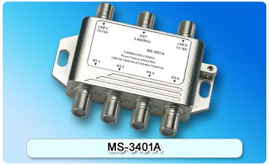 150616. MS-3401A 3 in 4 Multiswitch, 3 In Series