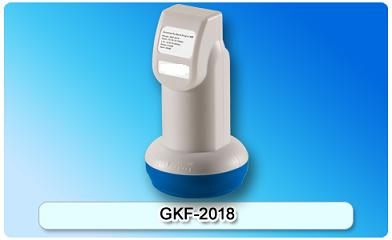 151012. GKF-2018 Universal Ku-Band Single LNBF Features: Low noise figure Digital ready Low power consumption Easy installation