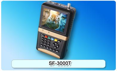151108. SF-3000T Digtal Satellite Finder