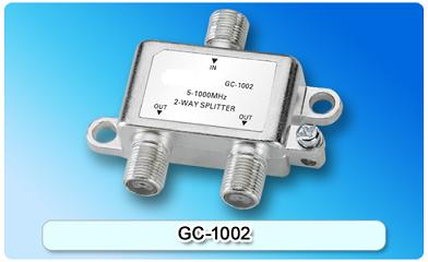 151401. GC-1002 5-1000MHz 2-way Splitter