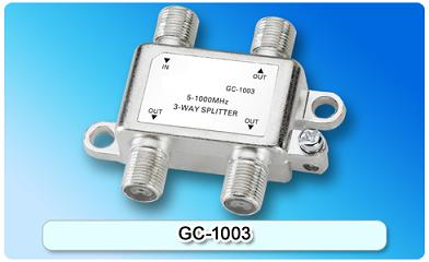151402. GC-1003 5-1000MHz 3-way Splitter