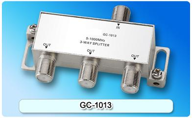 151407. GC-1013 5-1000MHz 3-way Splitter