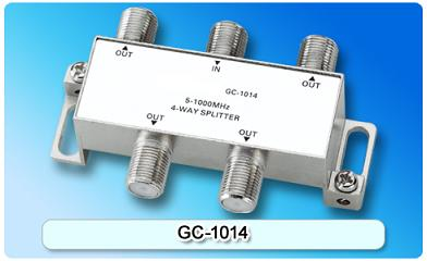 151408. GC-1014 5-1000MHz 4-way Splitter