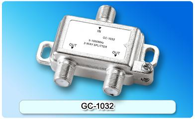 151411. GC-1032 5-1000MHz 2-way Splitter