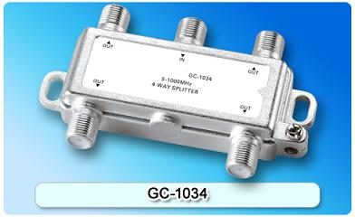 151413. GC-1034 5-1000MHz 4-way Splitter