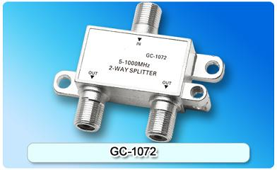 151416. GC-1072 5-1000MHz 2-way Splitter